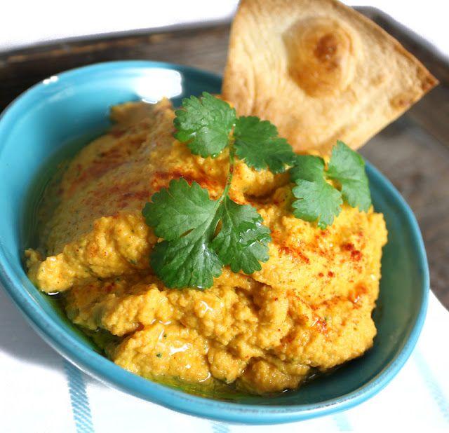 Oppskrift Gulrothummus Hjemmelaget Hummus Verdens Beste Dip Sunn Smørbønner Hvite Bønner