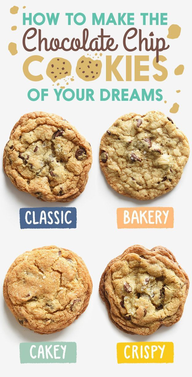 Not sure which one you'd like best? Take the quiz here. | Here's How To Make Cakey Chocolate Chip Cookies