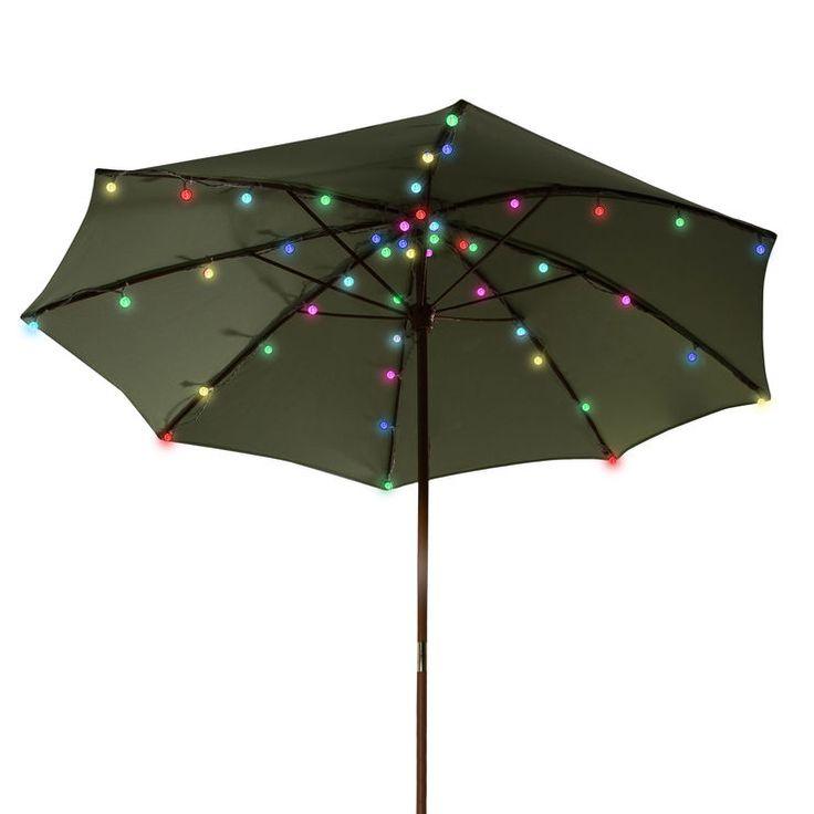 Patio Umbrella Hacks: 25+ Best Ideas About Umbrella Lights On Pinterest