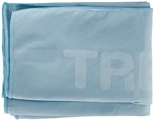 Trespass Soggy - Toalla de microfibra (75 x 130 cm), color azul claro