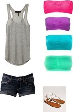 color bandues and tanks