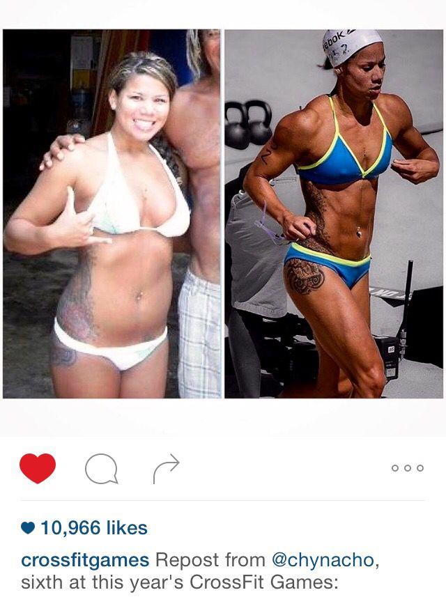 Chyna Chos CrossFit transformation, good inspiration