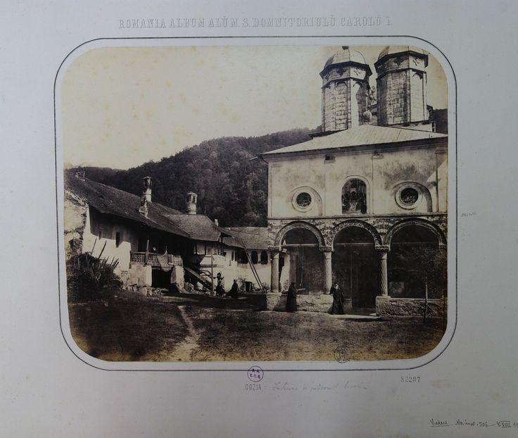 The porch of Cozia Monastery church (Valcea County)