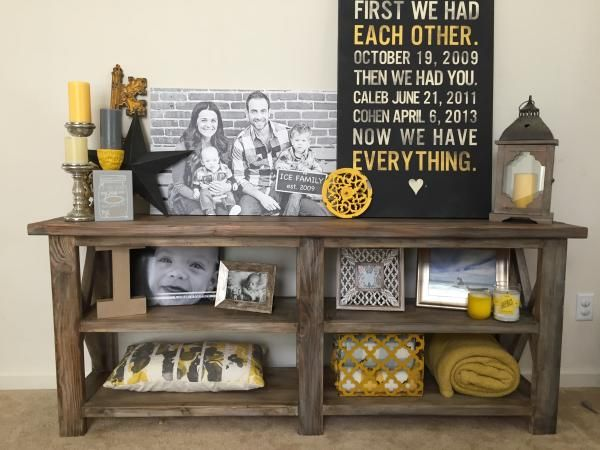 table do it yourself home projects from ana white living room