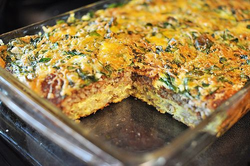 Looks so good! I think I would use breakfast sausage instead of Goetta though (since I have no idea what that is)