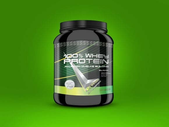 Protein Powder Packaging Label Design