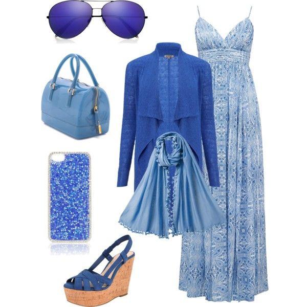 Blue on me