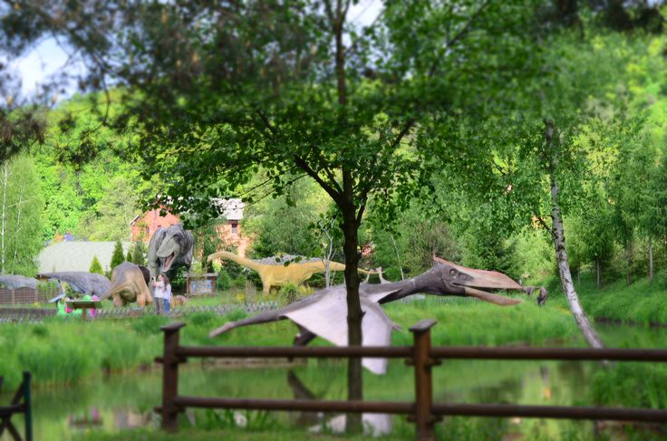 Jurapark Bałtów - dinozaury, pterodaktyle   Zapraszamy na wakacje do Bałtowa!