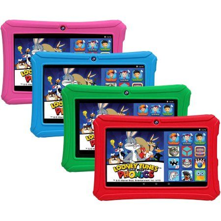 Epik Learning Tab 7 inch Kids Tablet 16GB Intel Atom Processor Preloaded with Learning Apps & Games, Pink