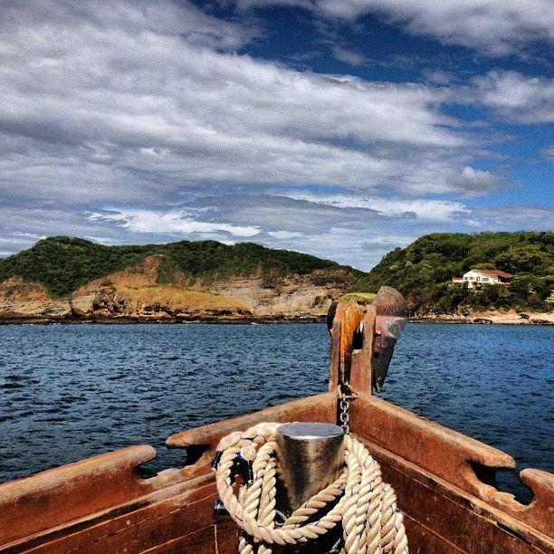 Aboard El Argonauta - tracing the Nicaragua Pacific Coast from Morgan's Rock - photo by Daniel Noll (uncornered_market on Instagram)