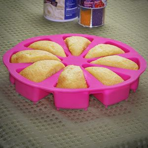 Just a Slice cake pan!  Ingenious!