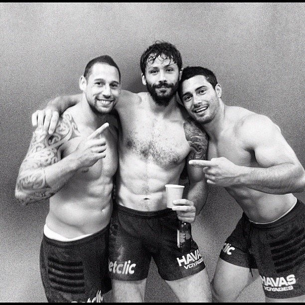 Luke McAlister, Clément Poitrenaud & Yann David - Finale du Top 14 #Rugby @Stade Toulousain @Clement Poitrenaud