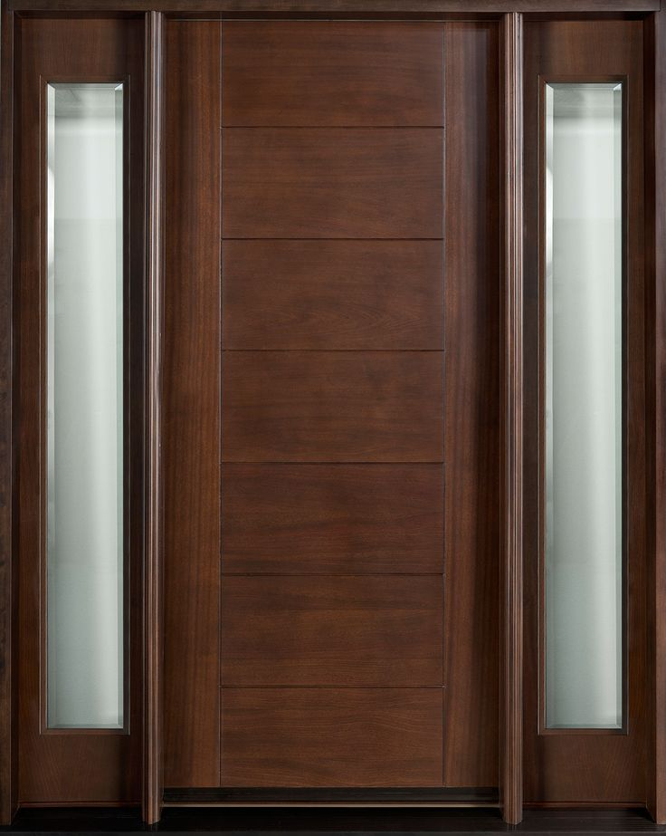 Enchanting Simple Stylish Entry Doors Doors Design With Single Panels  Detail And Stained Glass Sidelite