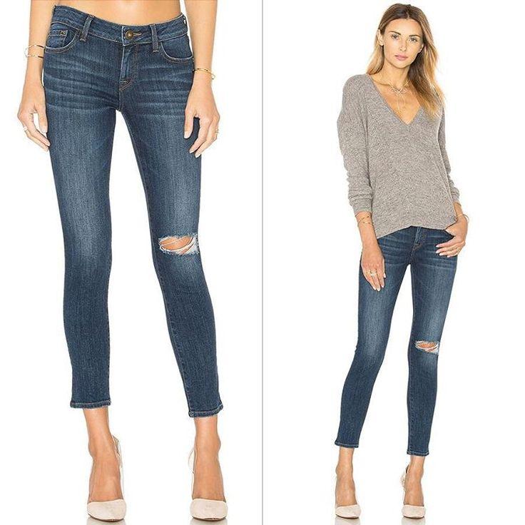 Всем известно, что рваные джинсы – очень модно. Но вот степень рваности каждый определяет для себя. Эти джинсы DL1961 как раз тот случай, когда одна деталь достаточно громко заявляет о вкусе, и в то же время без перехода на фальцет. Подобрать эти и другие стильные и идеально сидящие джинсы DL1961 вы сможете теперь со скидками до 50% в JiST или jist.ua.  #fashionable #outfitidea: #stylish & #trendy #blue #DL1961 #jeans help to create #chic #outfit #мода #стиль #тренды #джинсы #футболка #модно