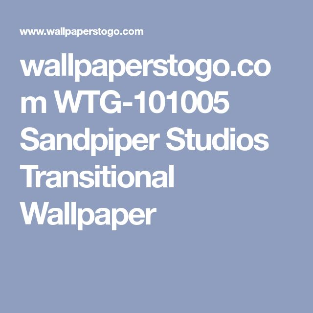 wallpaperstogo.com WTG-101005 Sandpiper Studios Transitional Wallpaper