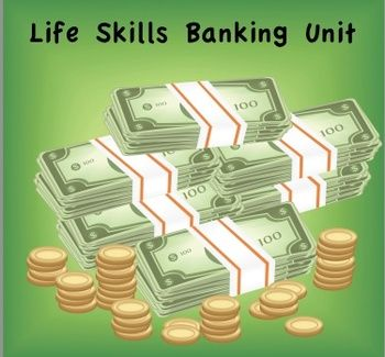 These lessons were designed to develop banking skills for teens or life skill students.  Since this is a Word Document, the lessons can be modified to meet the unique needs and skills of your students!  I originally made these lessons for High School students who were in grades 9-12 and varied in intellectual ability.