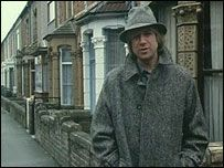 Justin Hayward outside 109 Dean St where he was born