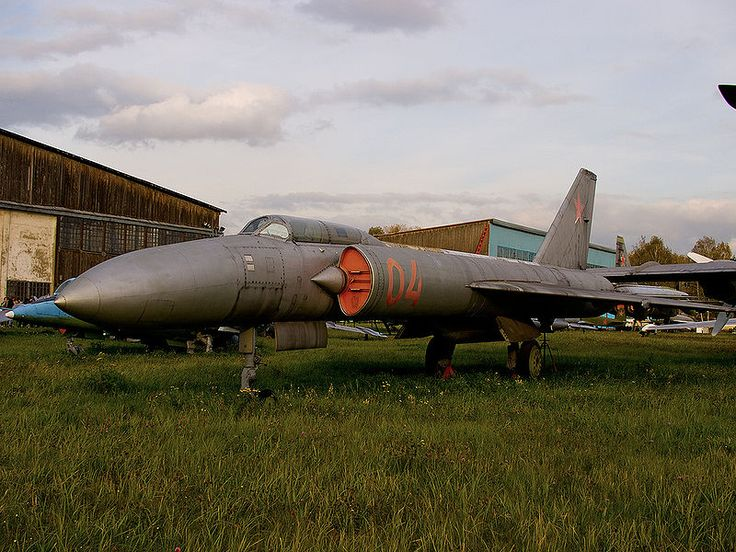 "The Lavochkin La-250 ""Anakonda"", 1956. It was a high-altitude interceptor aircraft prototype developed in the Soviet Union in the 1950s."