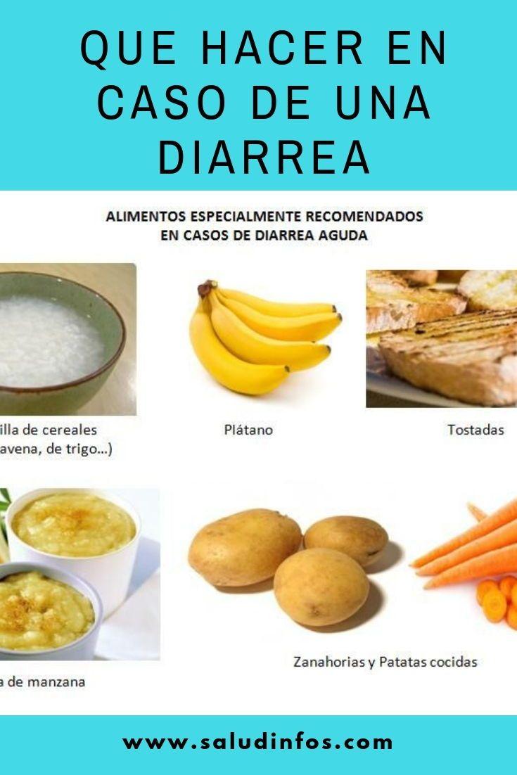 que comer para curar diarrea