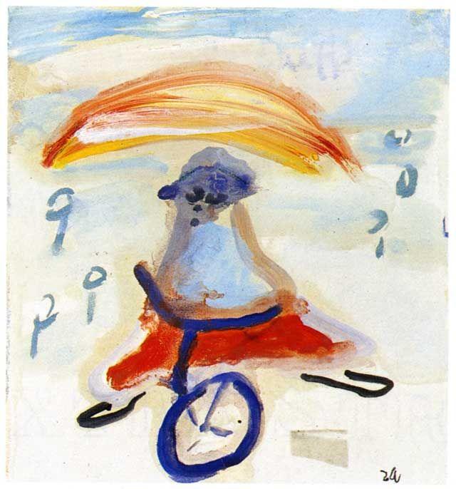 1940.11.12 Cesare Zavattini, Prete in bicicletta