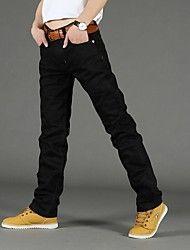 Men's Fashion Straight Jeans – USD $ 21.98