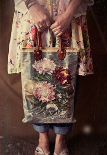 Still think an oil painting canvas bag would be amazing...