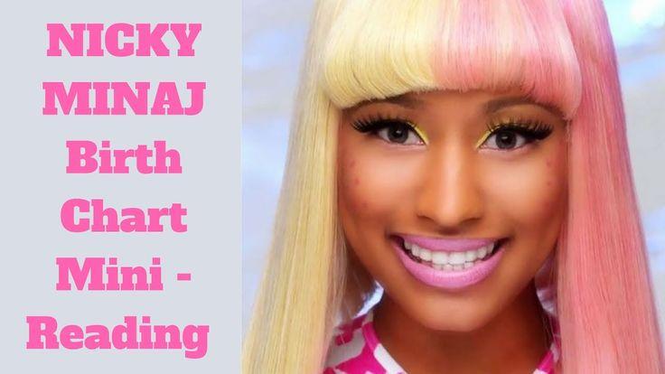 Nicky Minaj Birth Chart Reading