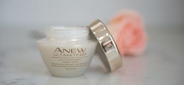 Enjoy the immediately hydrating effects of ANEW Ultimate Multi-Performance Day Cream with visible skin-smoothing results after two weeks! #AvonRep