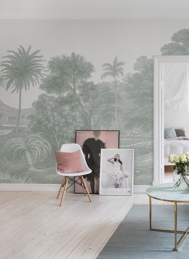 54 best Urban Jungle Tapeten und Inspiration images on Pinterest - wandfarben für schlafzimmer
