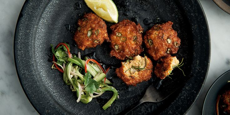 Thai-Style Fish Cakes with Cucumber Relish - Lifestyle FOOD