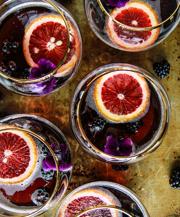 Halloween Punch Bowl Party Ideas | A roundup of the best boozy punches for your next Halloween party. #refinery29 http://www.refinery29.com/2015/10/95204/halloween-punch-bowl-party-ideas