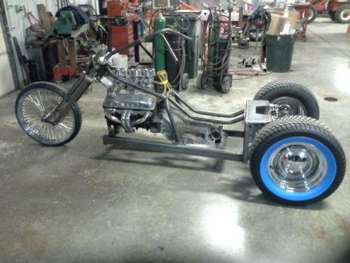 V 8 Trike Frame rolling chassis Rat Rod Hot Rod Trike MACS
