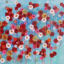Floer painting Envolée d'amour au paradis, by Vigo.