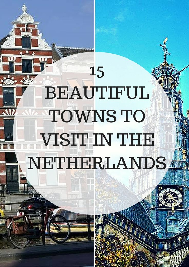Between the canals and medieval architecture, I consider the Netherlands to be one of the prettiest countries in the world. (I am a bit bias, being a Dutchy myself) Although it's a pretty small country, it is still home to the most charming cities and towns that are often overlooked when visiting this country. Check out this posts for 15 Beautiful towns you should visit in the Netherlands #Travel #Wanderlust #Europe