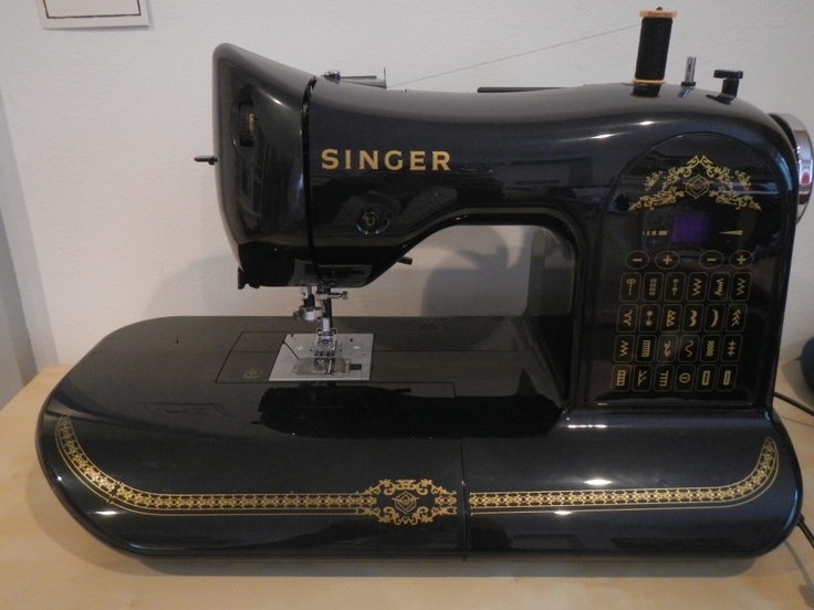 mein ganzer stolz singer n hmaschine special edition singer 160 limited edition sewing. Black Bedroom Furniture Sets. Home Design Ideas
