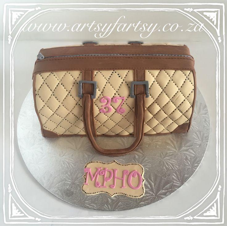 Handbag Cake #handbagcake