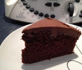Recipe Easy Rich Chocolate Cake by Karen - Recipe of category Baking - sweet