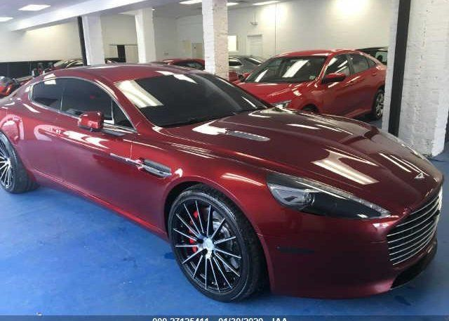 2015 Astonmartin Rapide Car For Sale At Salvagebid Car Auctions Cars For Sale Aston Martin Cars