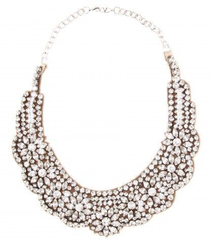 Valentino Crystal Embellished Necklace