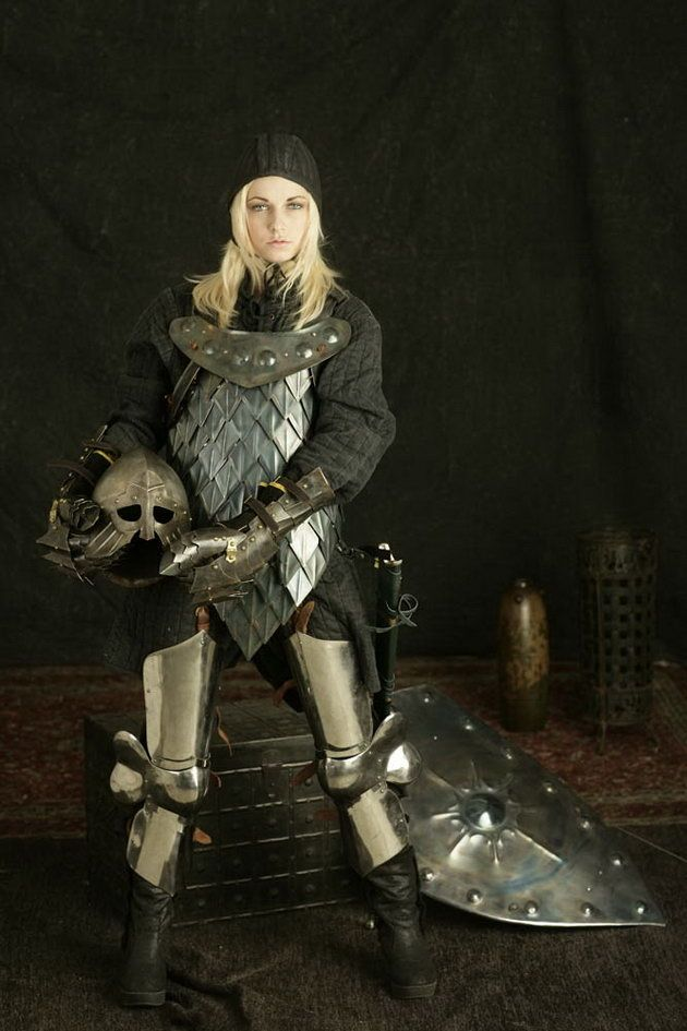 Costumes: Female Warrior Metal Armor | ::: Costumes ...