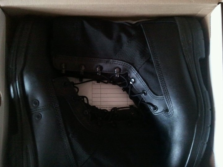 """""""My Father's Day present - Navy Seal Boots Model 11185e from The Boot Campaign, a great charity""""    - Dan L., Hamilon, OH"""