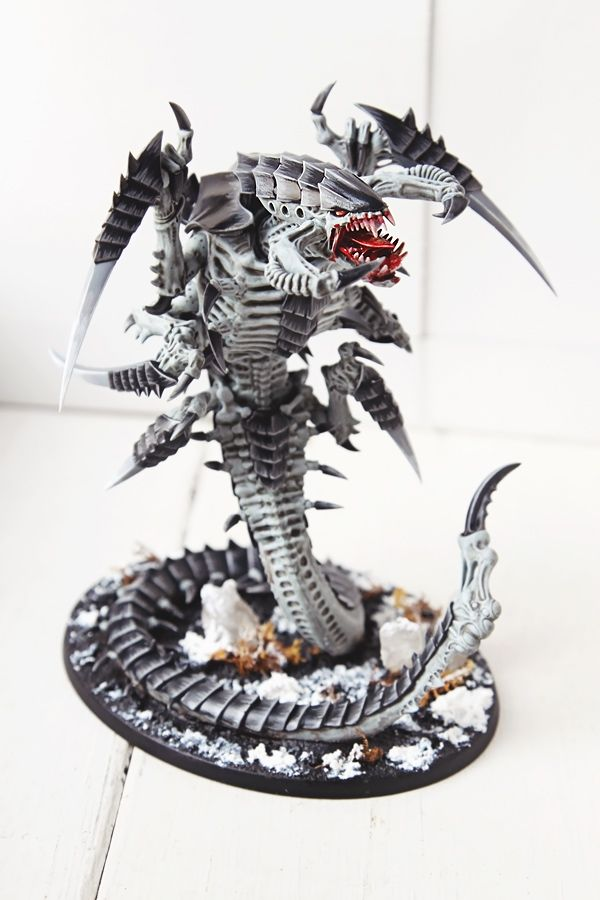 Tyranid Trygon Prime - Miniature Painting by miaow.deviantart.com on @DeviantArt
