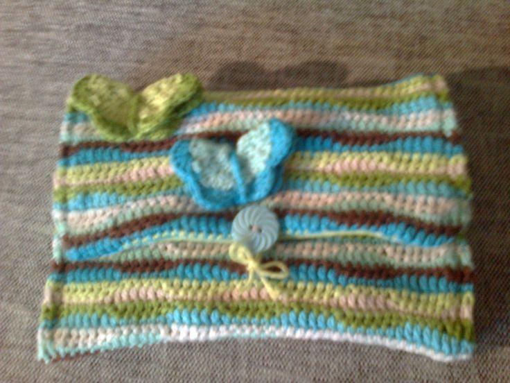 A crochet purse for a friend - my own design