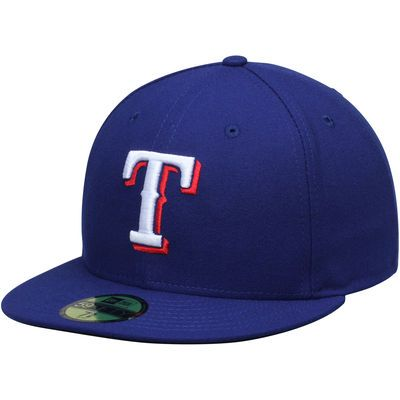 Texas Rangers New Era Men's Game Authentic Collection On-Field 59FIFTY Performance Fitted Hat - Royal