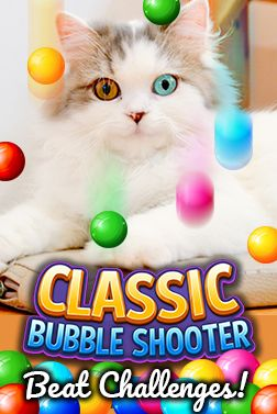 PLAY the best online bubble shooter game for free and solve all the fun puzzles. Clear all the bubbles and beat the challenges.