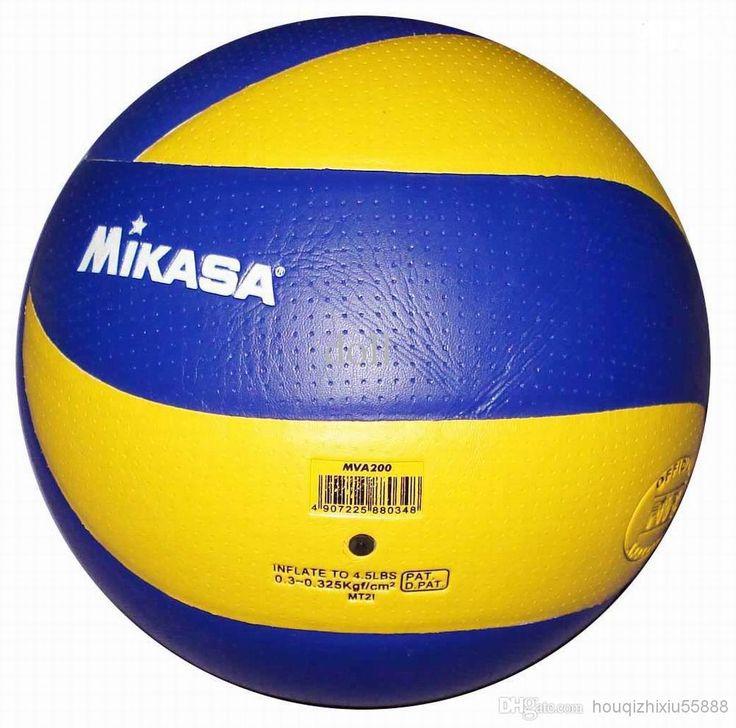MIKASA Volleyball MVA 200 PU Soft Touch Offical Ball Pro Model CH ...