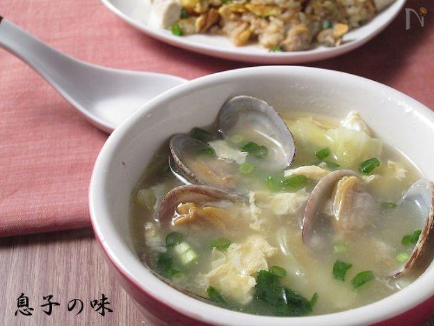 あさりとキャベツの生姜スープ by 近藤 章太