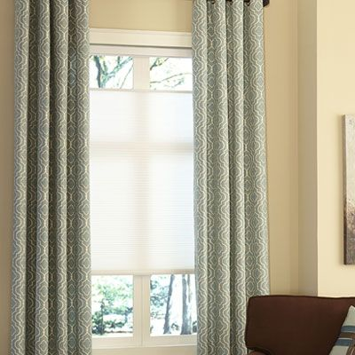 The Study Blinds.com: Cordless Top-Down Bottom-Up Cellular Shades
