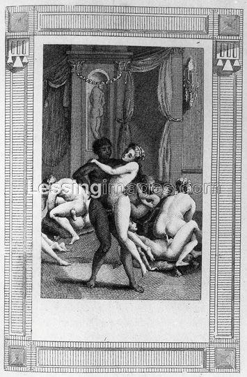 18th 19th century erotic art
