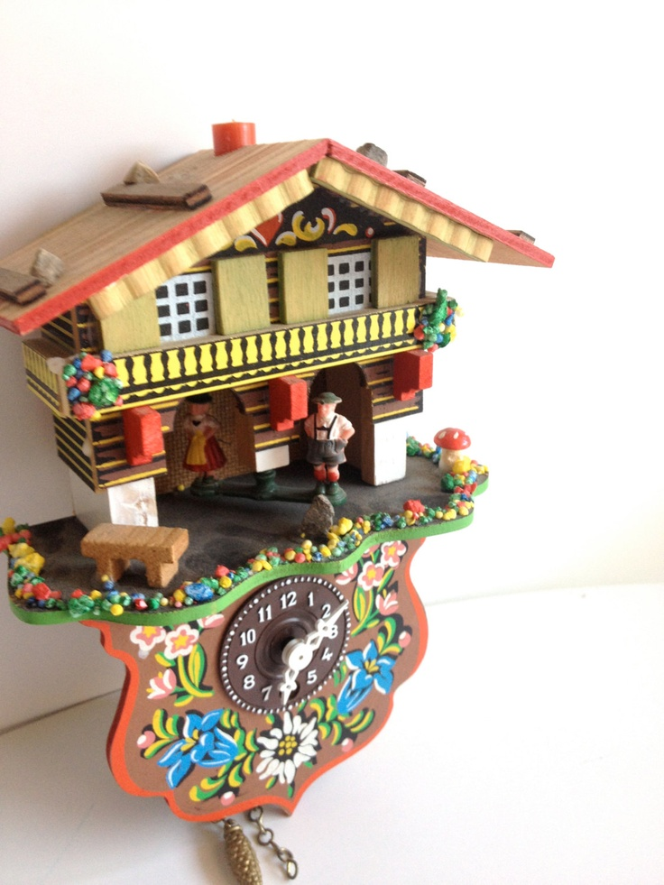RESERVED FOR ELIT Vintage German Cuckoo Clock : Vintage ...